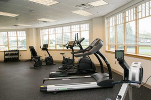 fitness center at the recovery village columbus drug and alcohol rehab